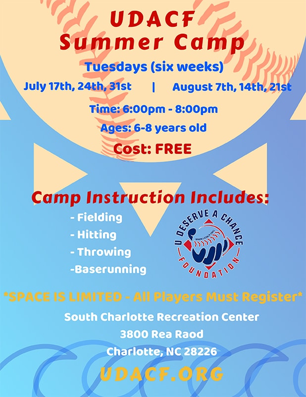 UDACF Summer Camp Flier