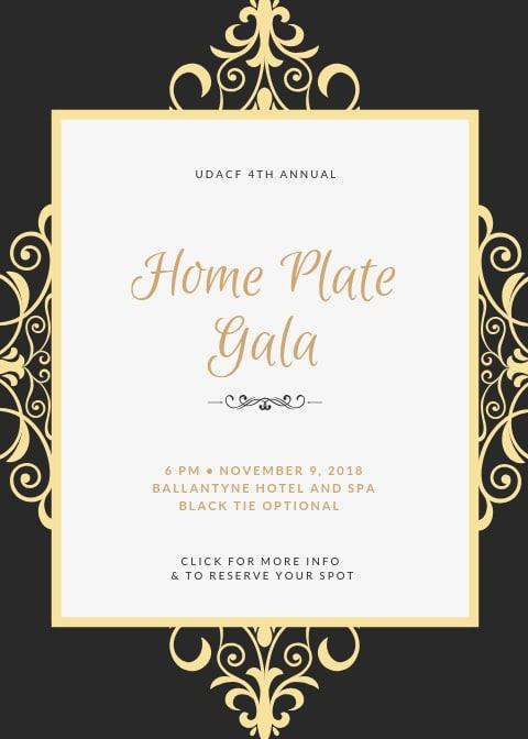 Gold Royal Wedding Invitation