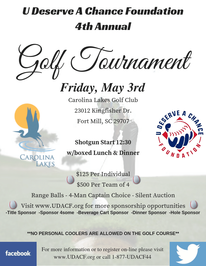 UDACF 4th Annual Golf Tournament